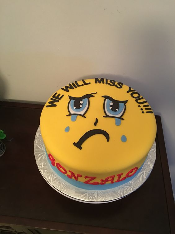 Going away party cake                                                       …
