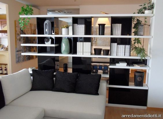 libreria bifacciale divisoria - Cerca con Google | Furniture ...