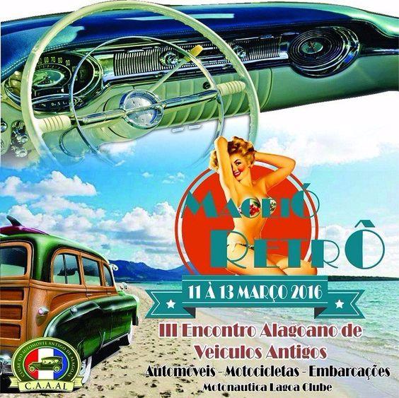 III Encontro Alagoano de Veículos Antigos, Maceió/AL