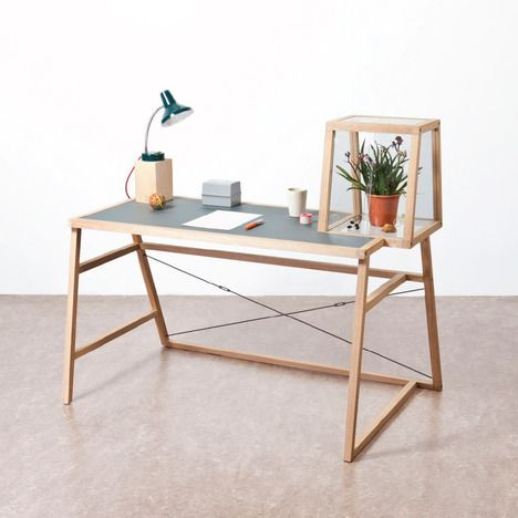 fantastic desk by Christian Ouwens