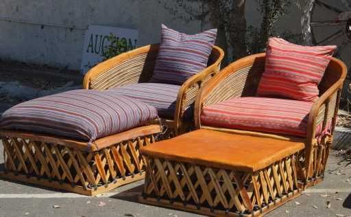 Equipale Mexican Leather Patio Furniture 4pcs With Images