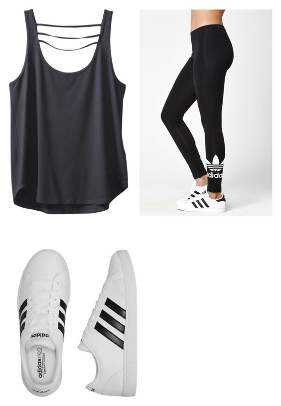"""Untitled #13"" by gabbyfuentes2001 on Polyvore featuring Kavu and adidas"