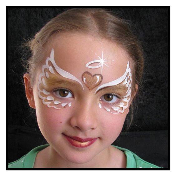#DIY - Maquillage enfant Ange