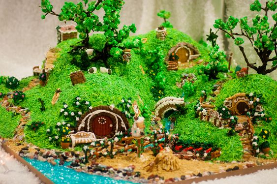 the shire in gingerbread