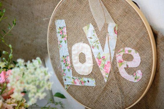 Embroidery hoop love. #cedarwoodweddings