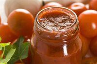 Jar of kombucha ketchup