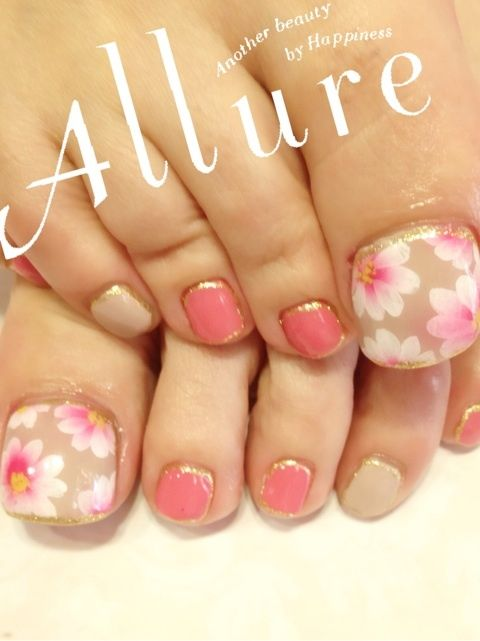 Nail Nail, Spring And Flower On Pinterest