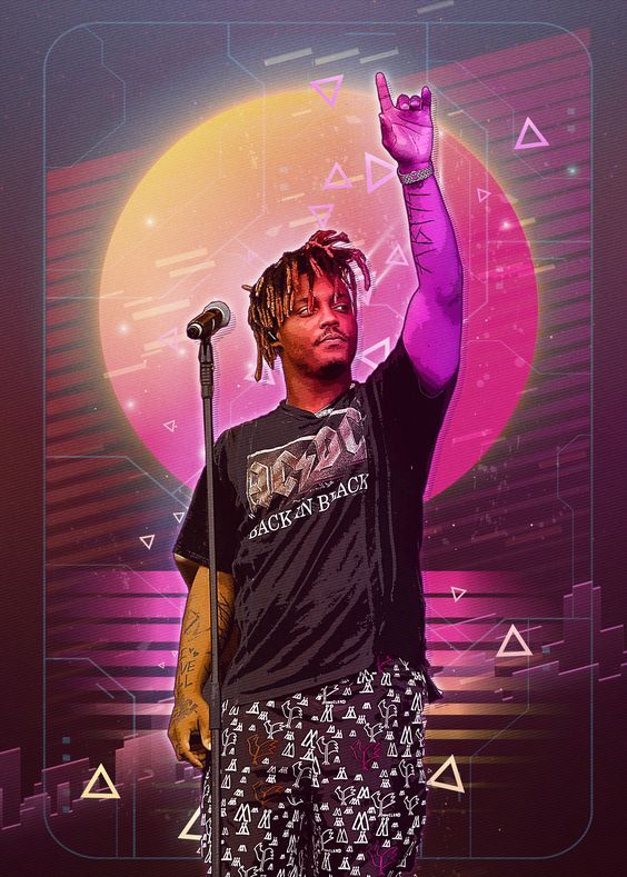 Juice Wrld Wallpaper For Mobile Phone Tablet Desktop Computer And Other Devices Hd And 4k Wallpapers In 2021 Just Juice Iphone Wallpaper Rap Neon Aesthetic Beautiful juice wrld wallpaper for