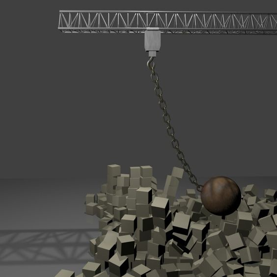 Balls to the Wall -  Created by Rick Savage - Blender 2.70