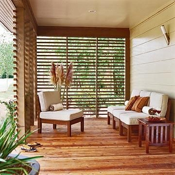 Bhg S Better Living House Modern Porch Porch Design House With