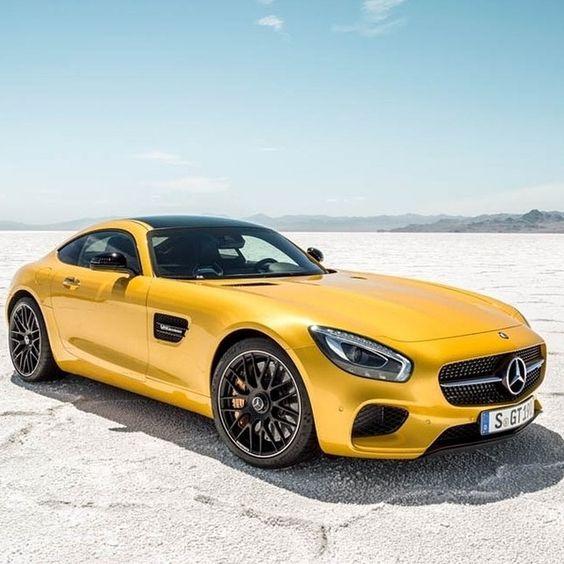 Mercedes Benz Sport: New Mercedes Sport Yellow On The Desert ♥ New App For