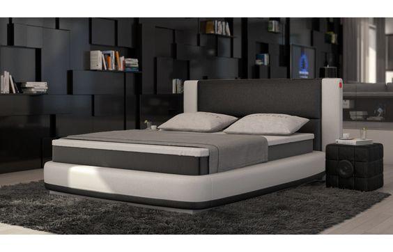 Unique  Design Boxspring Bett mit rundum LED Beleuchtung Exklusiv auf Sofa Dreams Boxspringbetten Pinterest