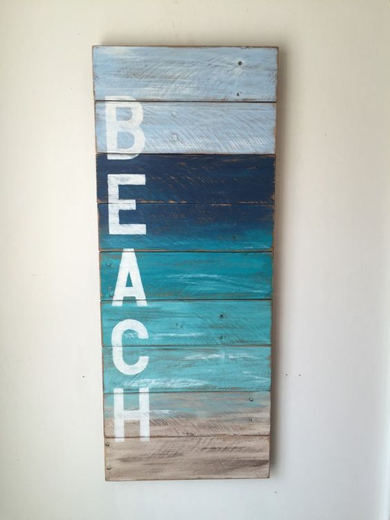 BEACH Coastal Decor by shoponelove on Etsy: