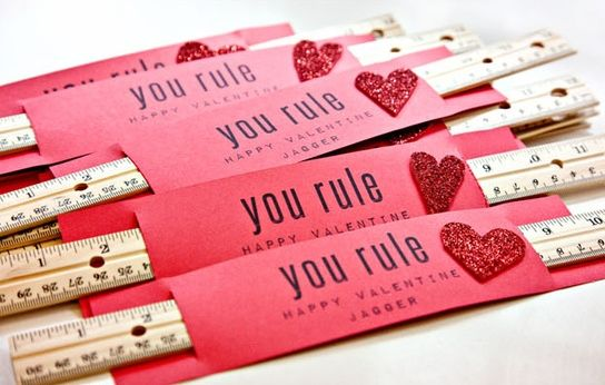 12 Office Supply Valentine Ideas http://blog.officezilla.com/office-supply-valentine-ideas/ #DIY #candy free: