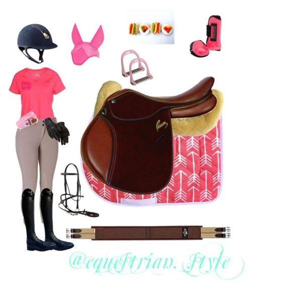 """""""Pink Sunday Ride"""" by makayla-bates ❤ liked on Polyvore featuring Under Armour, Parlanti, CC, Harold's and Lorenzini"""