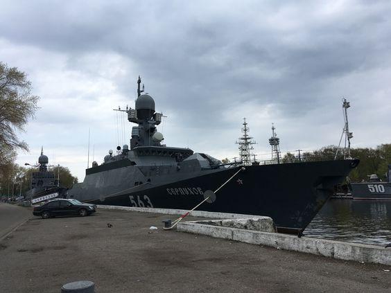 Корабли на причале в Балтийске. Фото: Vladimir Shveda