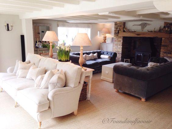Surrey cottage interior by found favour house for Interior design surrey