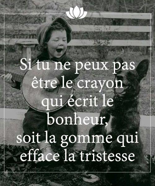 Tristesse - Bonheur