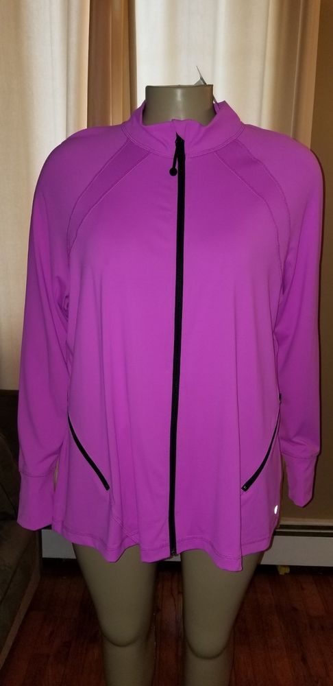 ****LANE BRYANT LIVI ACTIVEWEAR SIZE 26//28 LIVI BEDAZZLED TOP FITNESS CASUAL