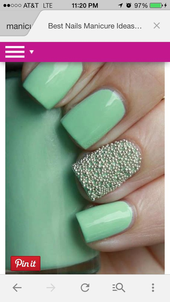 Nails -- I have these beads