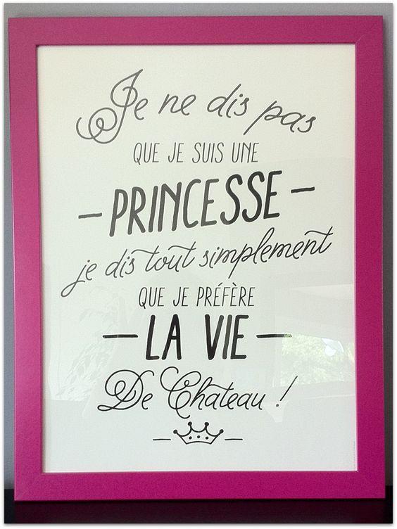 Affiche Princesse   Les mini tornades