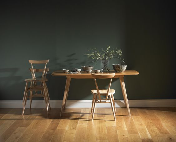 #Ercol I have a thing for clean lines in dining furniture. I think it helps to show the craftsmanship of the piece?