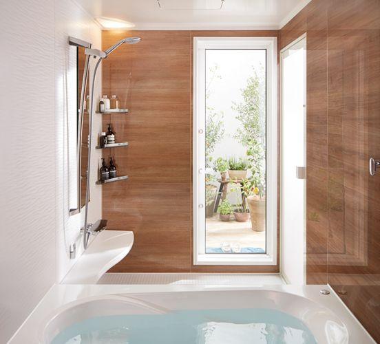 リクシル アライズ 16 16 ハイグレードモデル New カラーデザインパネル これで決まり システムキッチンはもっと凄い日本伝統色のベンガラ色系 リクシル お風呂 アライズ 浴室 デザイン