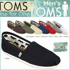 Toms shoes,I like  them, And the price the low $22