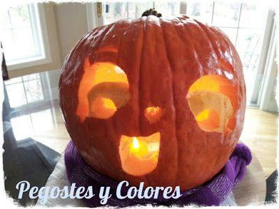 """Pegostes y Colores: Calabaza Tallada de Shopkins' """"Pumpkerella"""""""