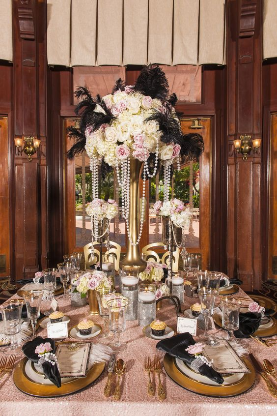 Bridal stop on san diego style weddings old hollywood - Old hollywood glamour decor ...