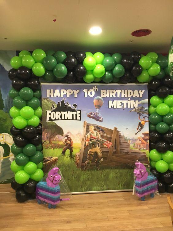 Ideas Para Un Cumpleaños De Fortnite Sólo Para Fans