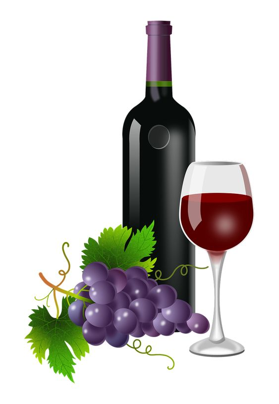 Grapes Glass Bottle - Free image on Pixabay