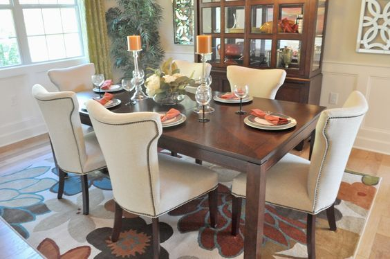 We went to the last day of the Parade of Homes  this weekend! The Parade of Homes is an open house tour of tons of new houses in the Raleig...