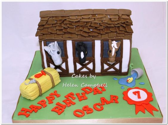 Stable Cake - Cake by Helen Campbell