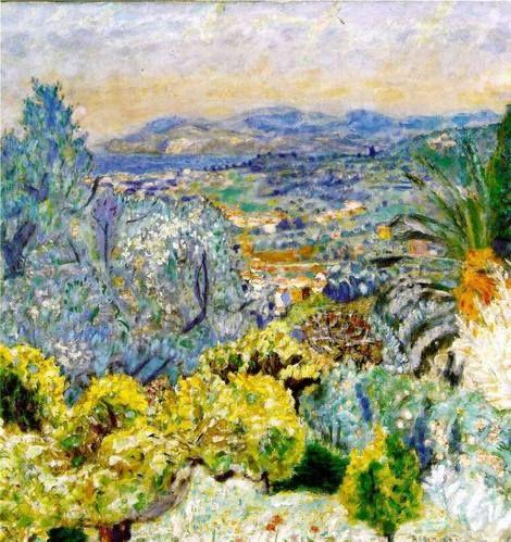 Pierre Bonnard, La Cote d'azur , 1924 on ArtStack #pierre-bonnard #art