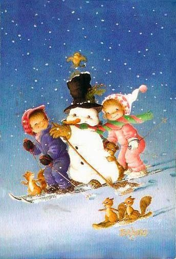 VINTAGE, EL GLAMOUR DE ANTAÑO: Ferrándiz, la cara más tierna de la Navidad