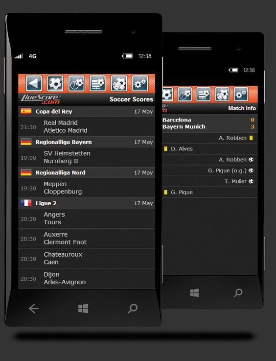 Livescore.com - live soccer scores | www.livescore.com - Mobile App for…