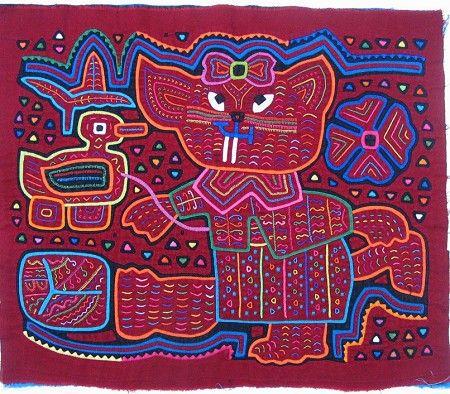 Kuna mola from Panama.