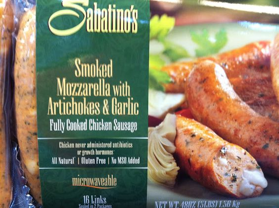 sabatino's chicken sausage ingredients recipe