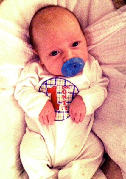 Giuliana & Bill's little Edward Duke. What a cutie! #StyleNetwork #GandB