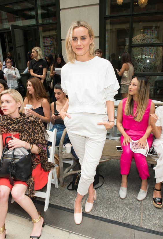 Taylor Schilling à la Fashion Week de New York