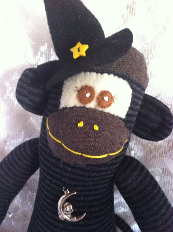 ... 20.00 | Monkey Business! | Pinterest | Monkey, Sock monkeys and Sock