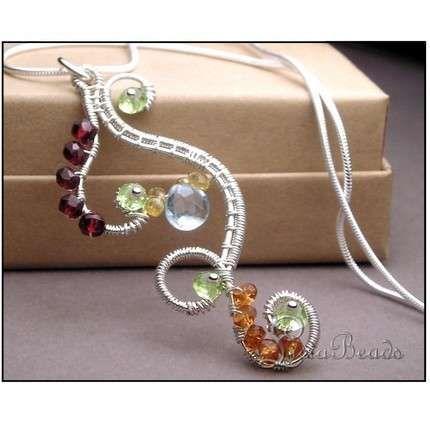 Wickwire Jewelry: Free Tutorial-Woven Wire Earrings
