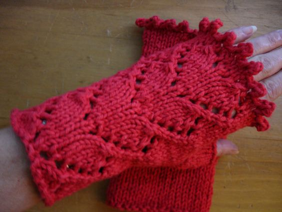 Knitting Pattern PDF Fingerless Texting Mitts All by Yarnin4More, $2.99
