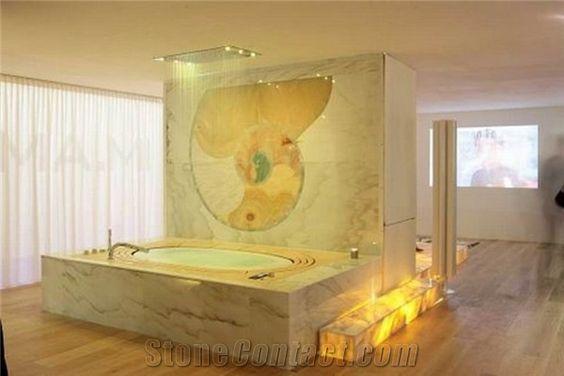 Bath tubs decks and tubs on pinterest for Onyx bathroom design