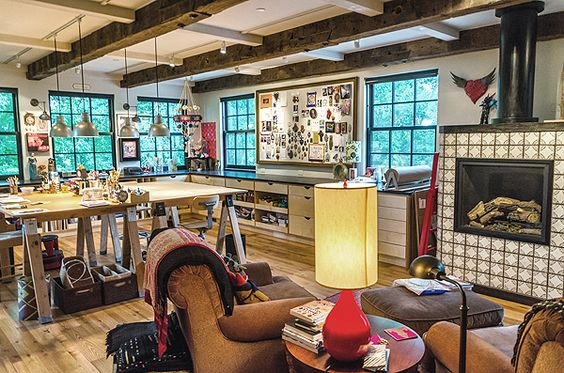 what a beautiful room!!! mini Makerie in Boulder, Colorado