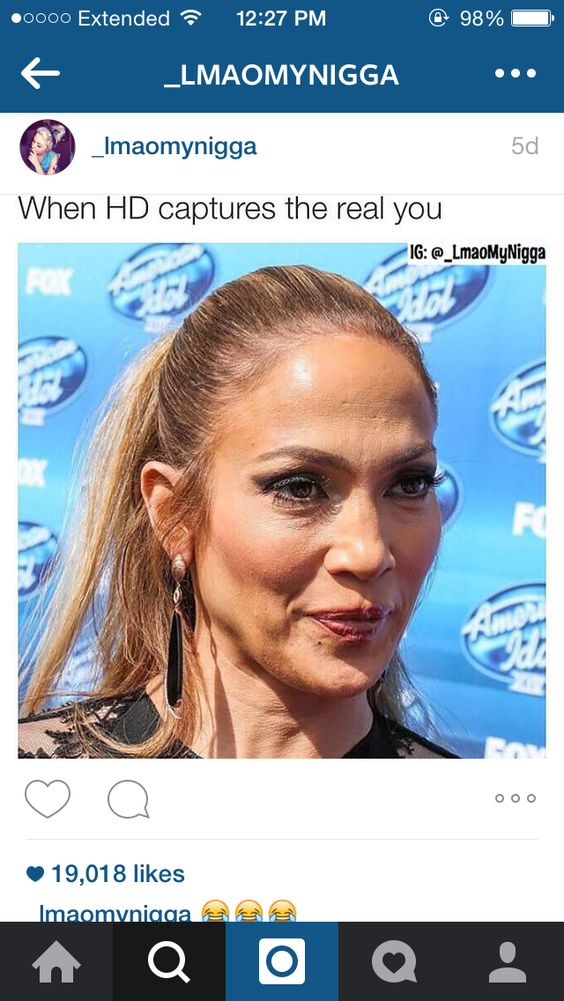 I very much hate the caption  of the meme... she still looks great for her age.