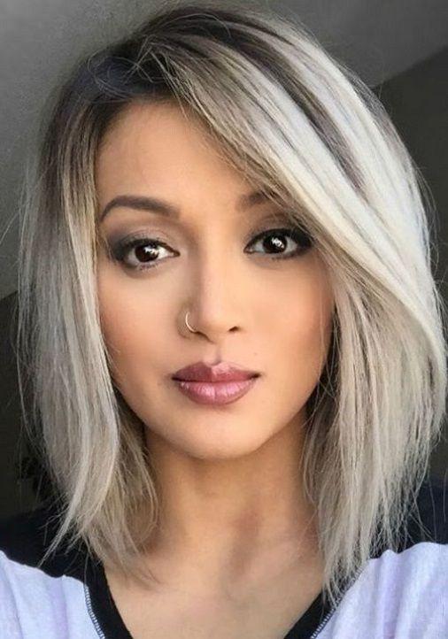 25 Stylish Bob Hairstyle Ideas For Womens 2018 Pics Bucket Bob Hairstyles Hair Styles Medium Bob Haircut