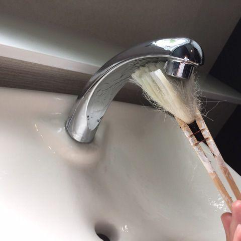 家にあるアレで 新品のステンレスの輝きをパパッとget 水垢 掃除
