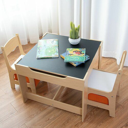 Isabelle Max Faulkner Children S 3 Piece Table And Chair Set Wayfair Co Uk Toddler Table Childrens Table Kids Table And Chairs